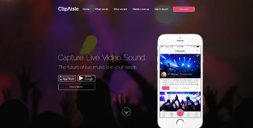 ClipAilse  Live Concert Videos With Amazing Sound